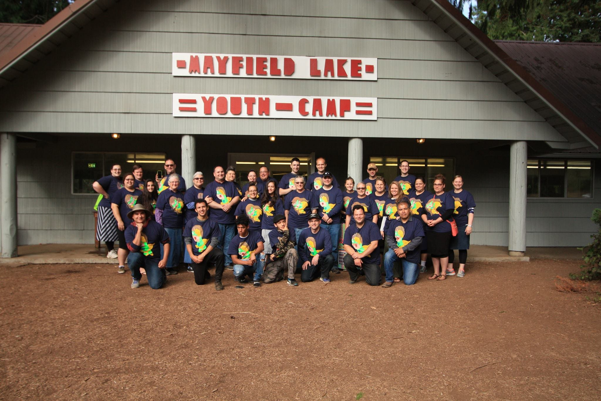 Junior Camp Staff Photo